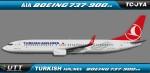 Turkish Airlines Boeing 737-900ER TC-JYA