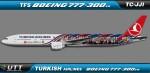 Turkish Airlines Boeing 777-300ER TC-JJI (Barcellona FC)
