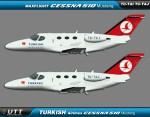Turkish Airlines Flight Academy Cessna 510 Mustang fleet