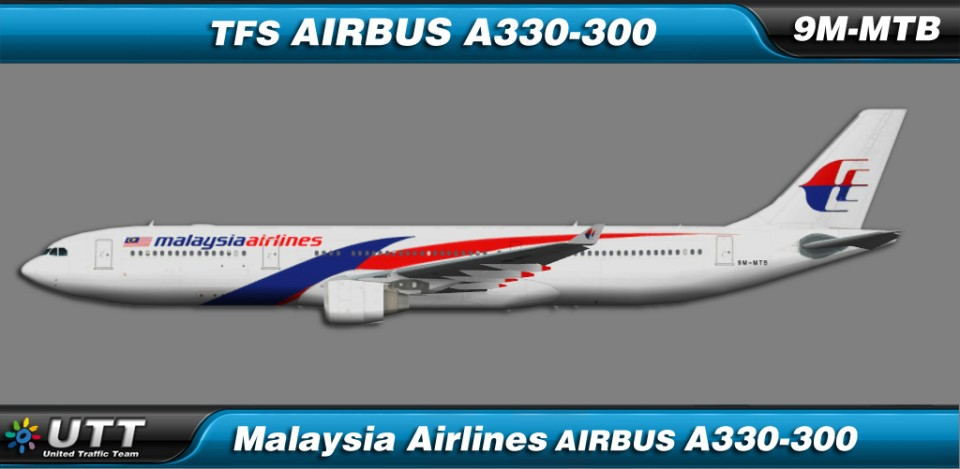 Malaysia Airlines Airbus A330-300 9M-MTB new colors