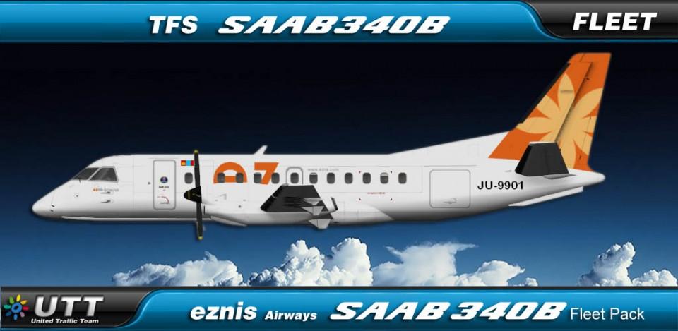 Eznis Air SAAB 340B Fleet