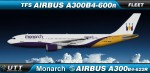 Monarch Airlines Airbus A300-600R fleet