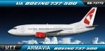 Armavia Boeing 737-500 EK73772