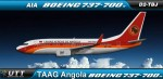 TAAG Angola Airlines Boeing 737-700w D2-TBJ