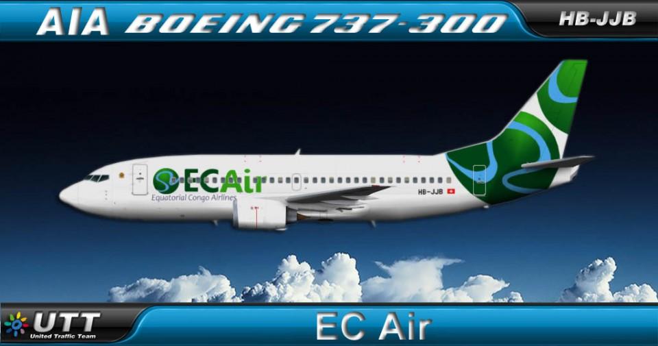 EC AIR Boeing 737-300 HB-JJB
