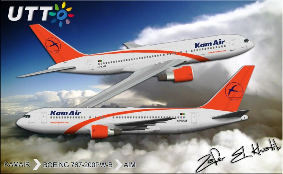Kamair Boeing 767-200 YA-KAM