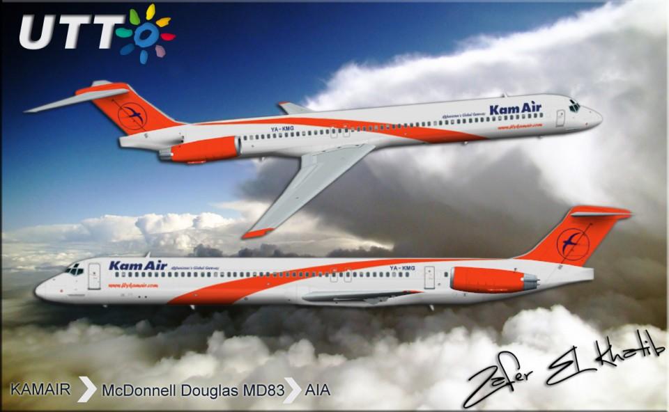 KamairMcDonnell Douglas MD83 YA-KMG
