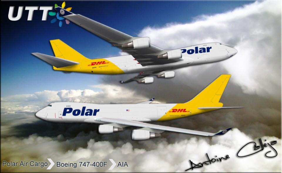 Polar Air Cargo Boeing 747-400F N451PA
