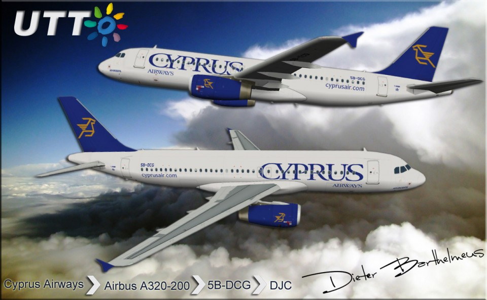 Cyprus Airways Airbus A320-200 5B-DCG