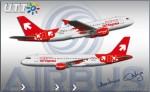 OLT Express Airbus A320-200 SP-IAC