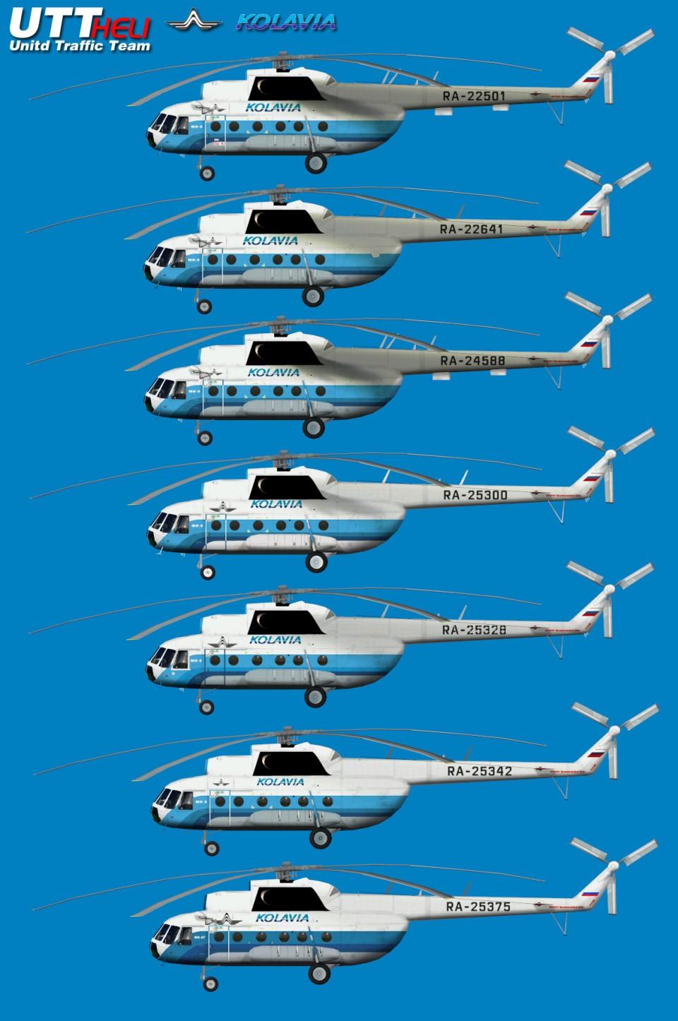 Kolavia AI Helicopters Mi-8T