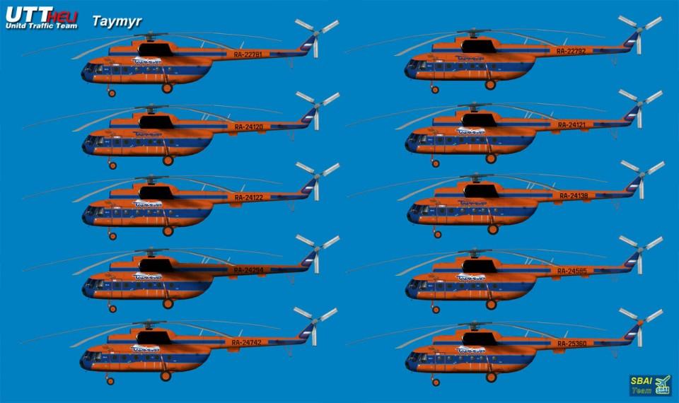 Taimyr AI Helicopters Mi-8T