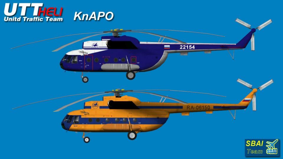 KnAPO AI Helicopters Mi-8T