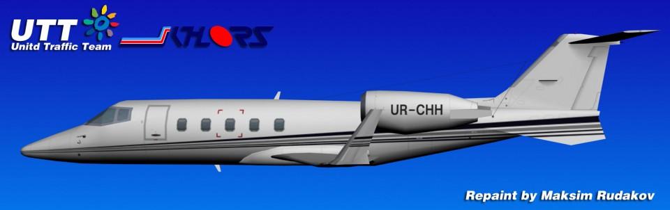 Khors Bombardier Learjet 60 UR-CHH