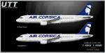 Air Corsica Airbus A320-200 F-HDGK & F-HDMF