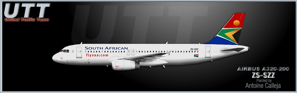 South African Airways Airbus A320-200 ZS-SZZ