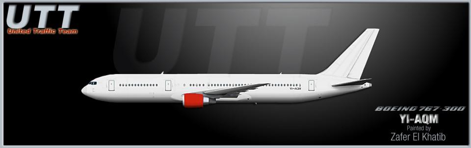 Iraqi Airways Boeing 767-300 YI-AQM