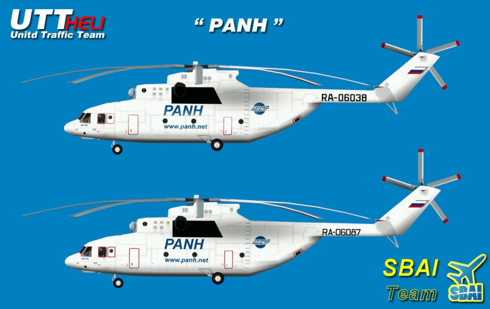 SBAI AI Helicopters Mi-26 PANH