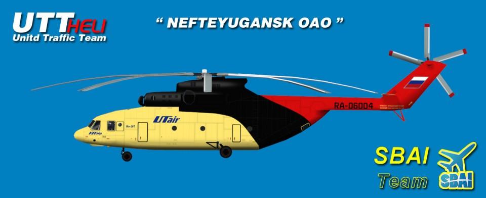 SBAI AI Helicopters Mi-26 NEFTEYUGANSK OAO