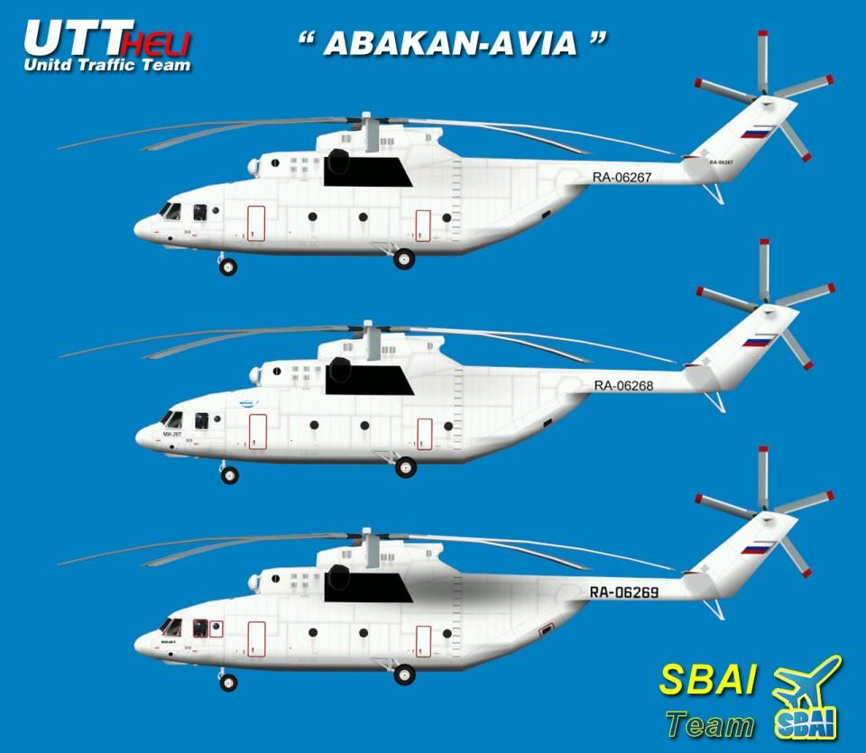 SBAI AI Helicopters Mi-26 Abakan Avia