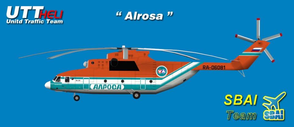 SBAI AI Helicopters Mi-26 Alrosa