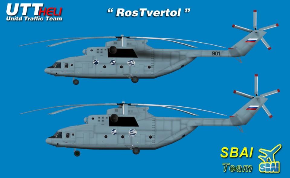 SBAI AI Helicopters Mi-26 RosTvertol part 2