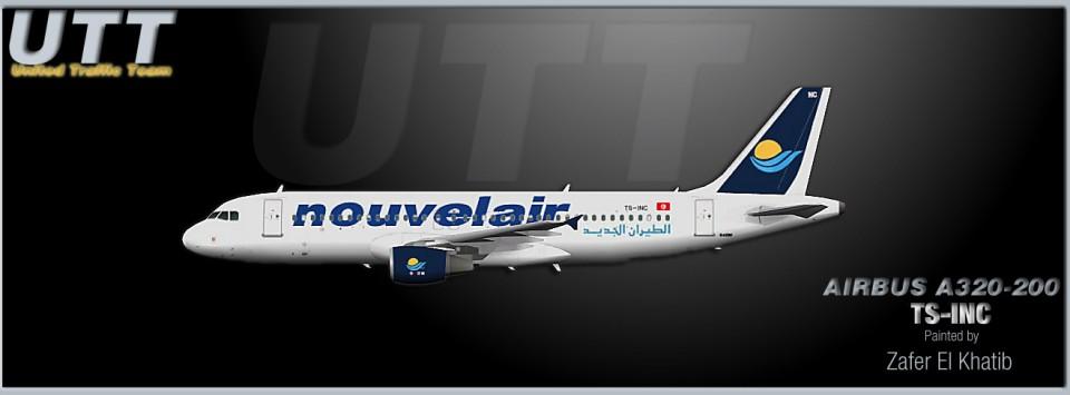Nouvelair Airbus A320-200 TS-INC