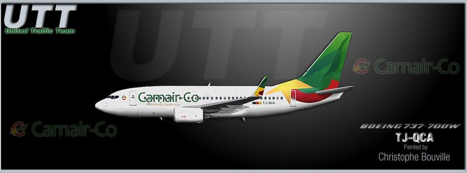 Camair-co Boeing 737-700w TJ-QCA