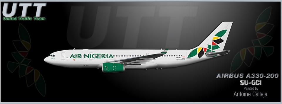 Air Nigeria Airbus A330-200 SU-GCI