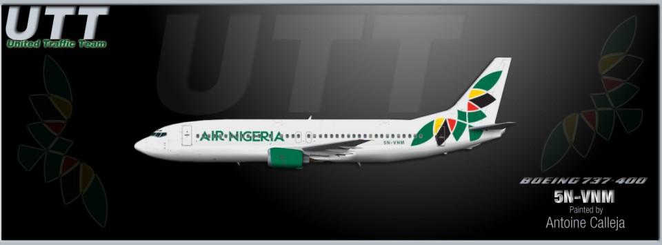Air Nigeria Boeing 737-400 5N-VNM