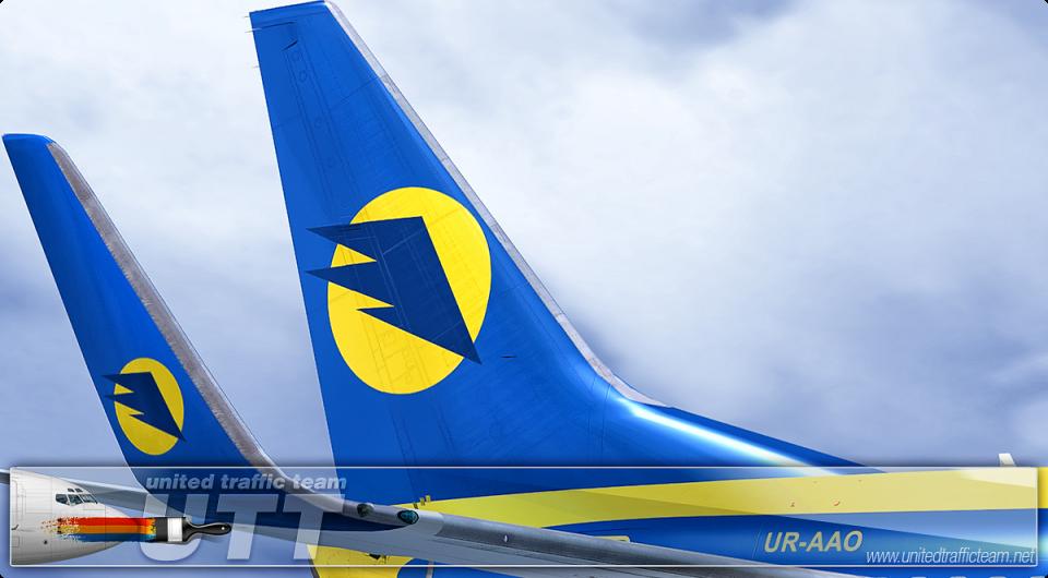 Aerosvit Airlines Boeing 737-800 UR-AAO