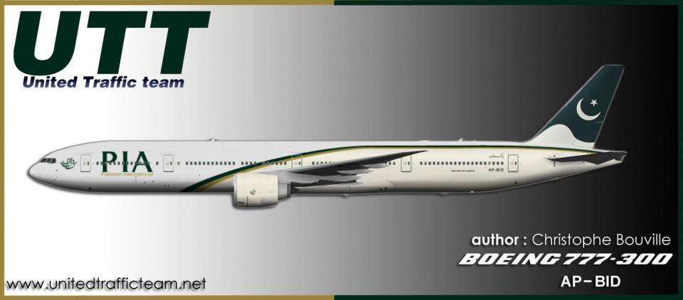 PIA Pakistan Boeing 777-300 AP-BID