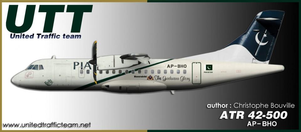 PIA Pakistan ATR42-500 AP-BHO