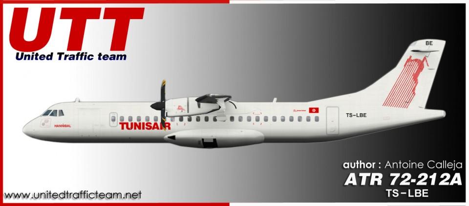 Tunisair Express ATR 72-210 TS-LBE