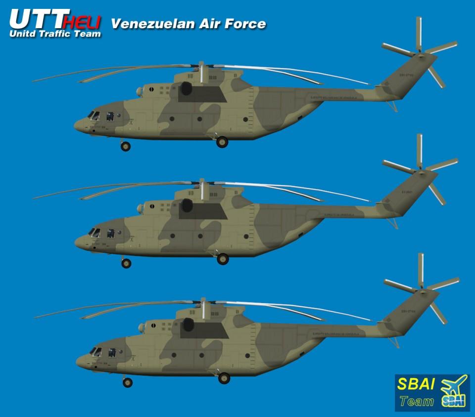 SBAI AI Helicopters Mi-26 Venezuelan Air Force