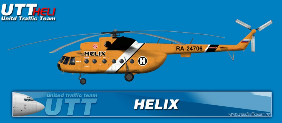 HELIX AI Helicopters Mi-8T