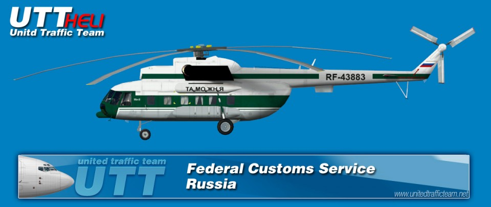 Federal Customs Service (Russia) AI Helicopters Mi-8T