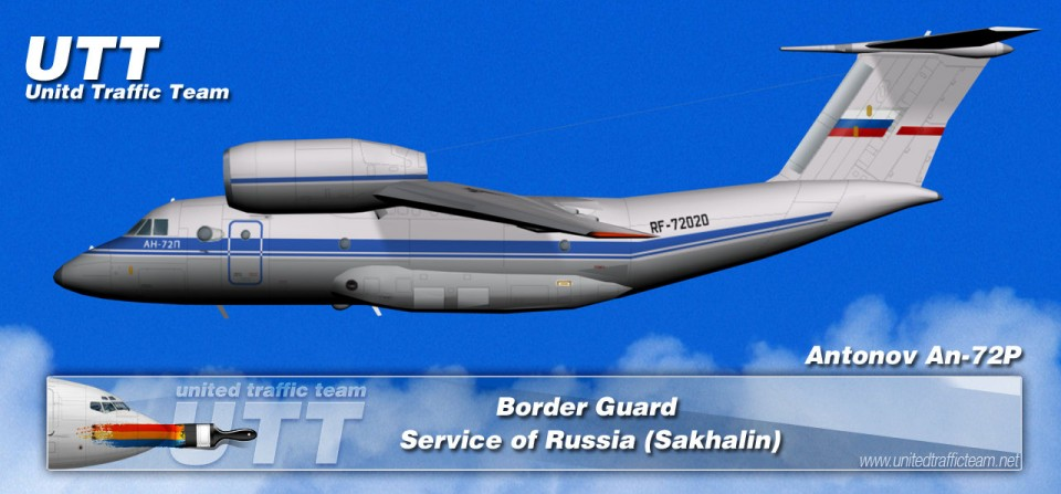 Border Guard Service of Russia (Sakhalin) Antonov AN-72