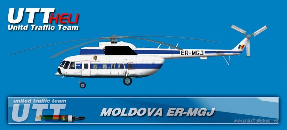 MOLDOVA ER-MGJ AI Helicopters Mi-8T