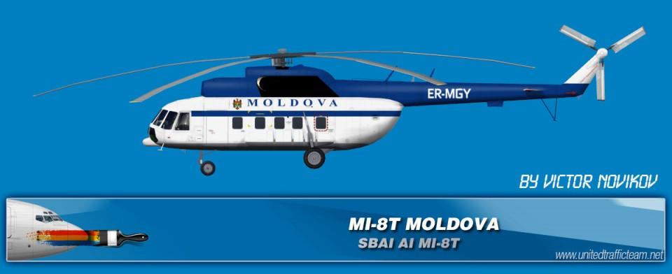 MOLDOVA ER-MGY AI Helicopters Mi-8T