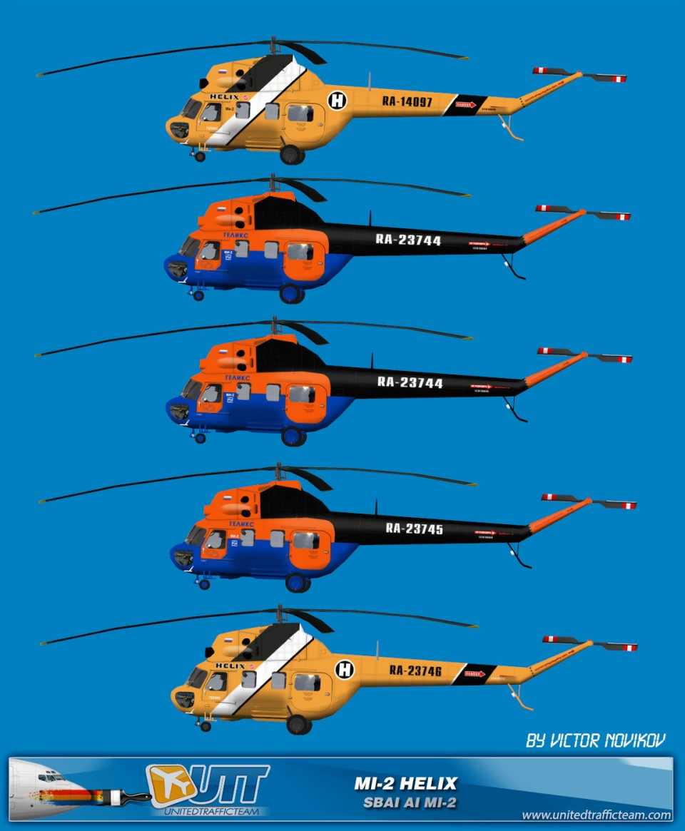 Helix AI Helicopters Mi-2