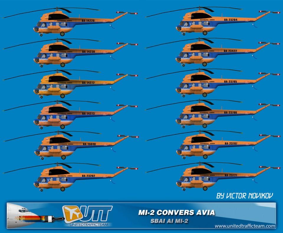 CONVERS AVIA AI Helicopters Mi-2