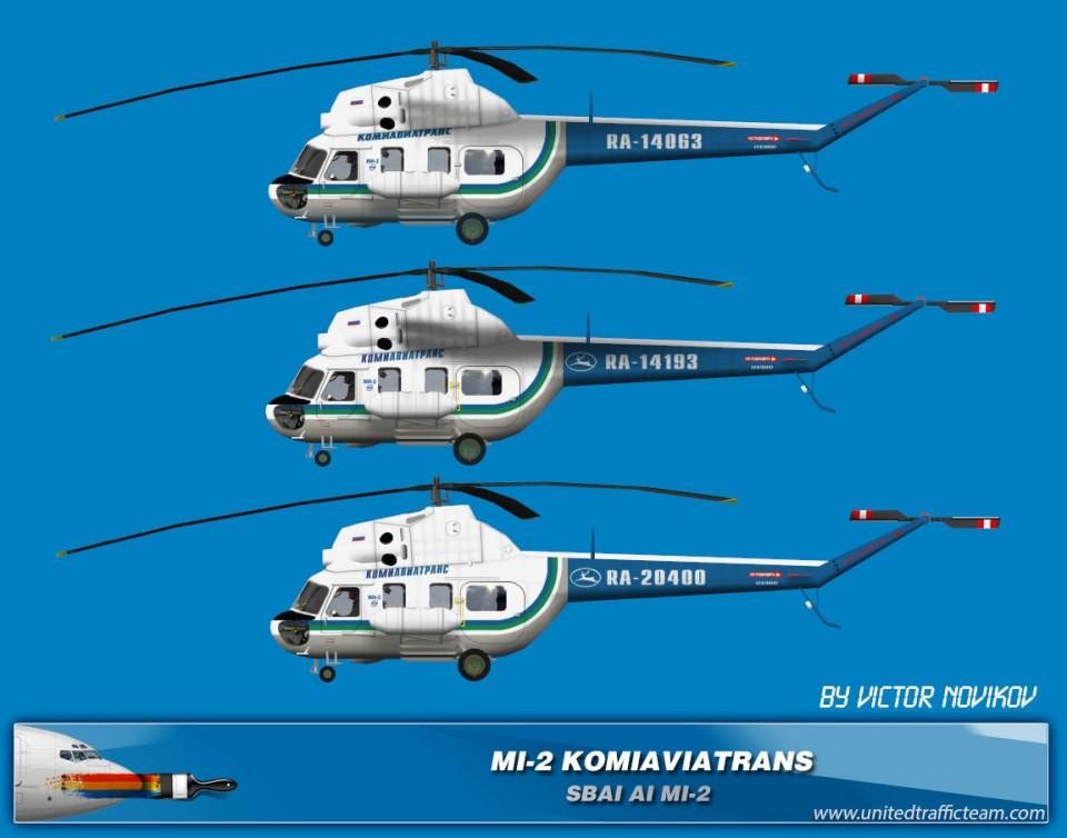 KOMIAVIATRANS AI Helicopters Mi-2