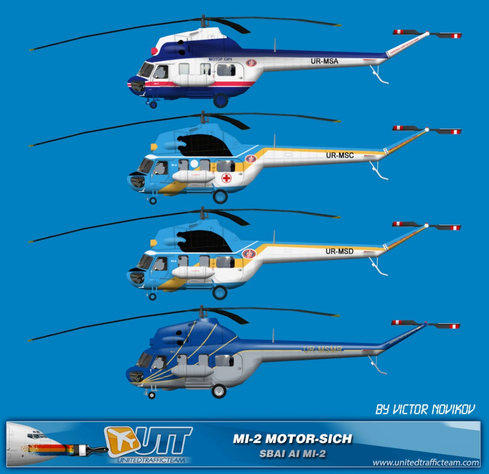 Motor Sich AI Helicopters Mi-2