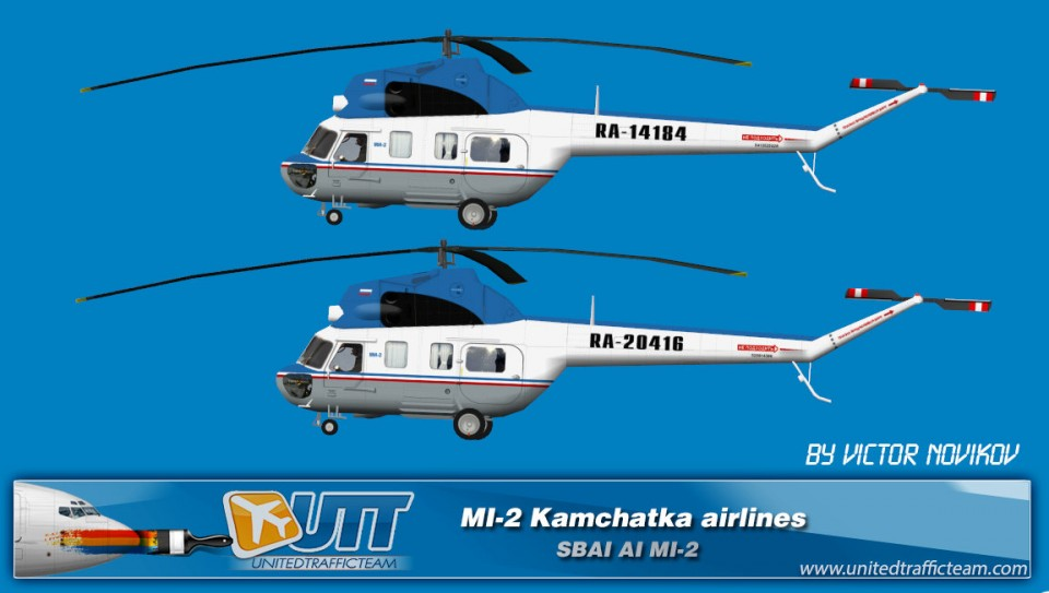 Kamchatka airlines AI Helicopters Mi-2