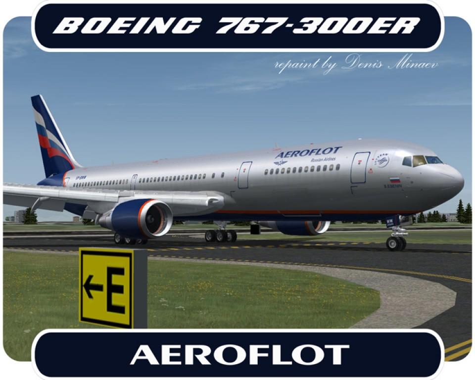 Aeroflot Boeing 767-300 - VP-BWW