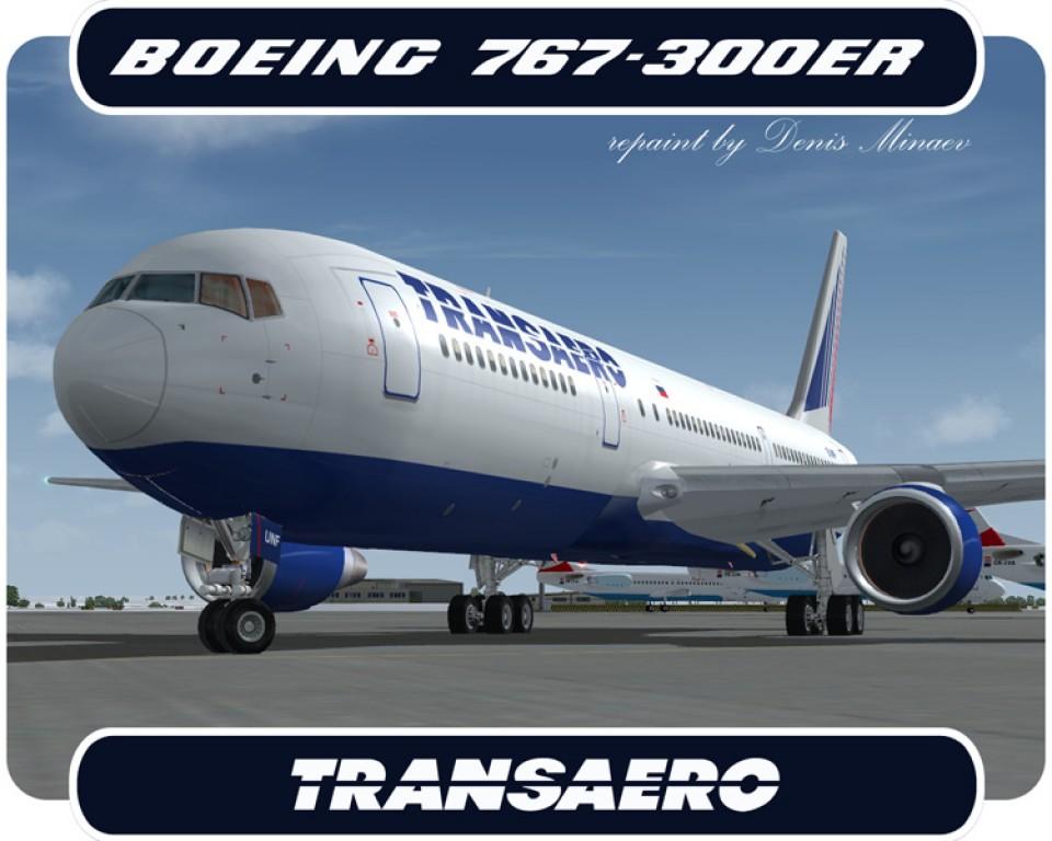 Transaero Boeing 767-300 - EI-UNF