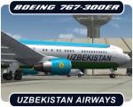 Uzbekistan Airways Boeing 767-300 - VP-BUF