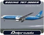 Dniproavia Boeing 767-300 - UR-DNM