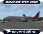 Nordwind Airlines Boeing 757-200 - VQ-BAK